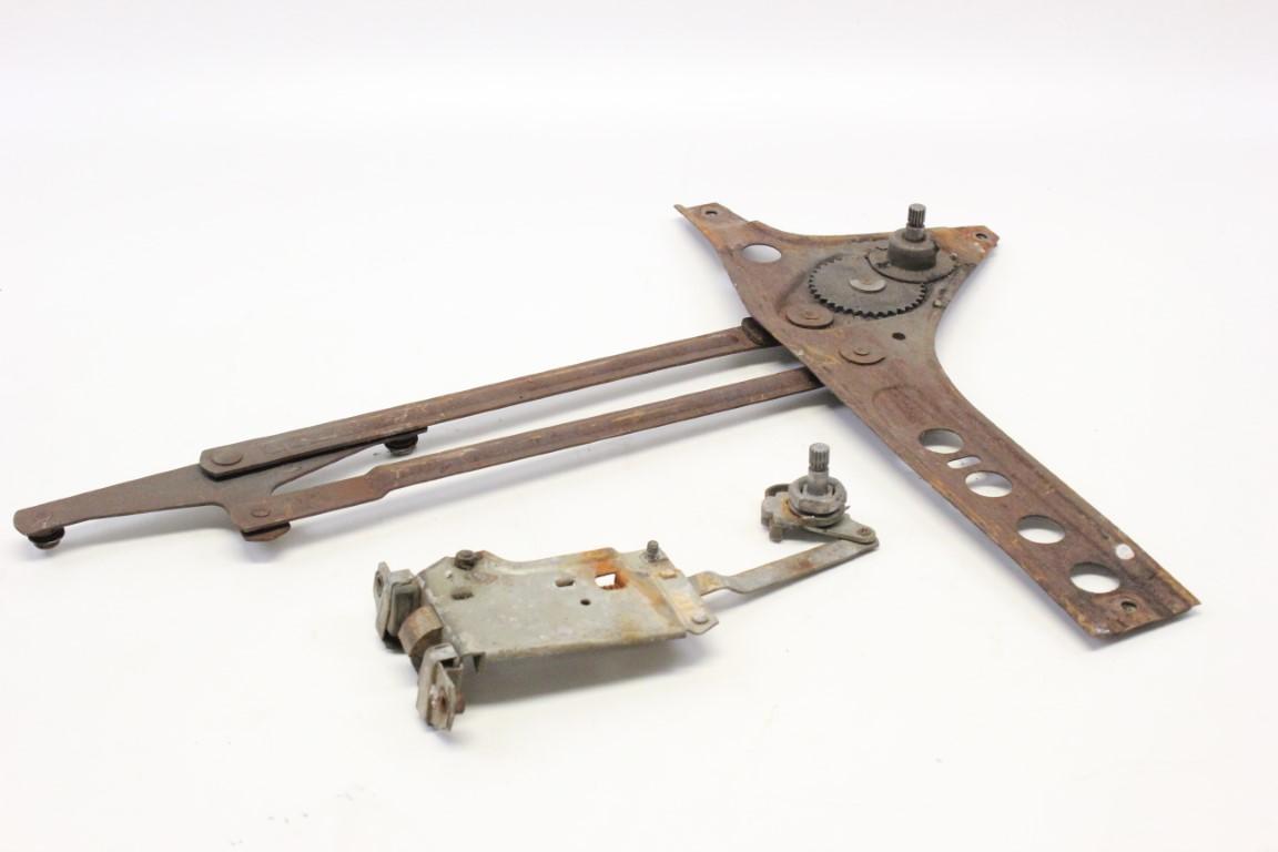 front left door lock and window regulator