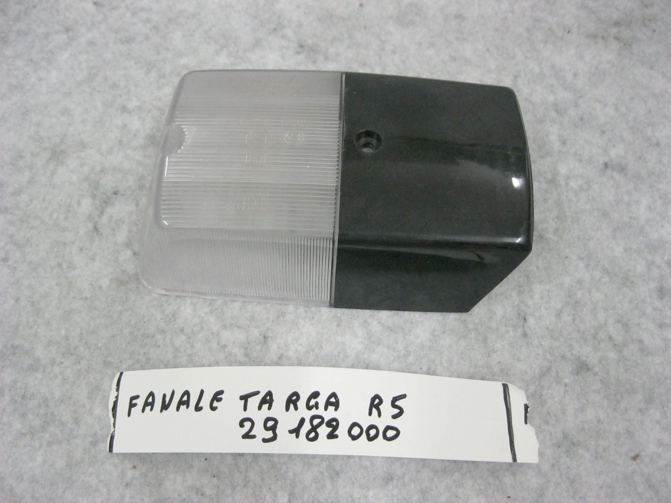 rear number plate light lens
