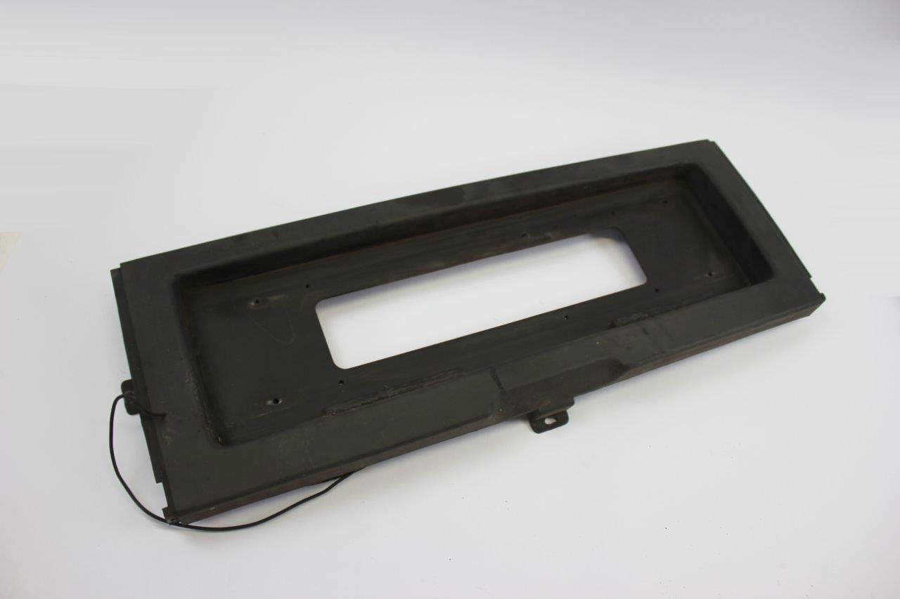 rear number plate frame