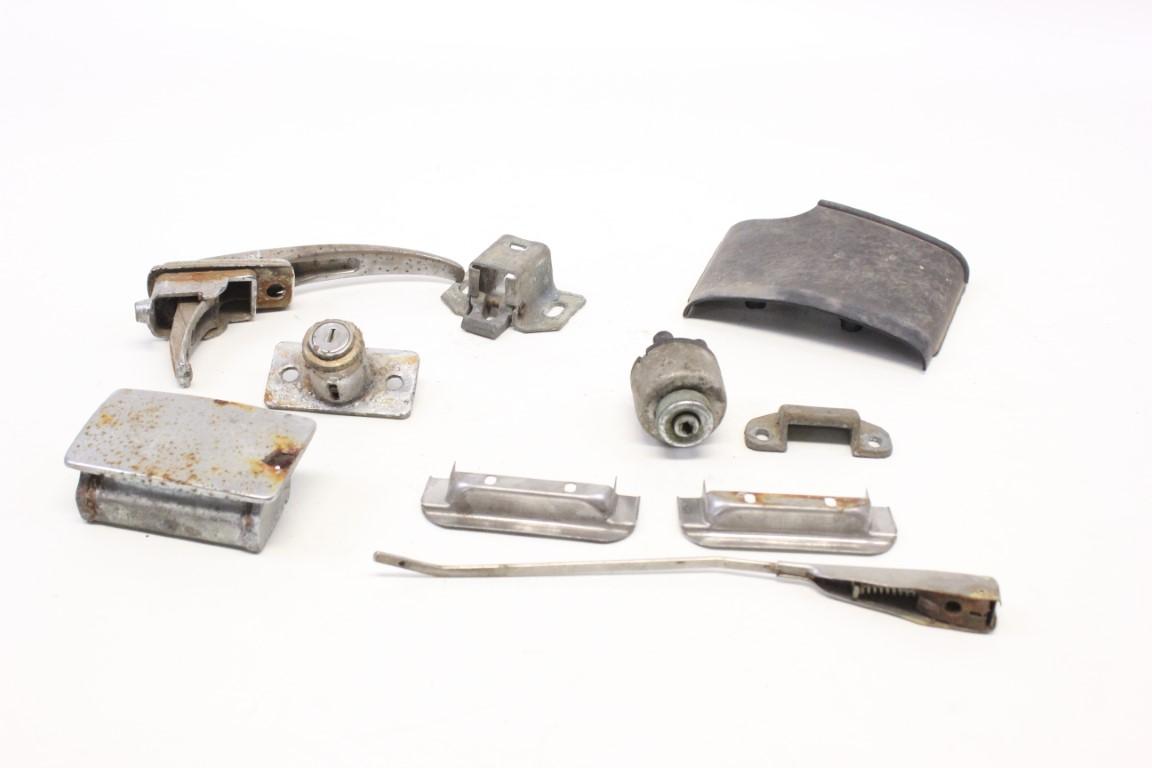 lot of various parts