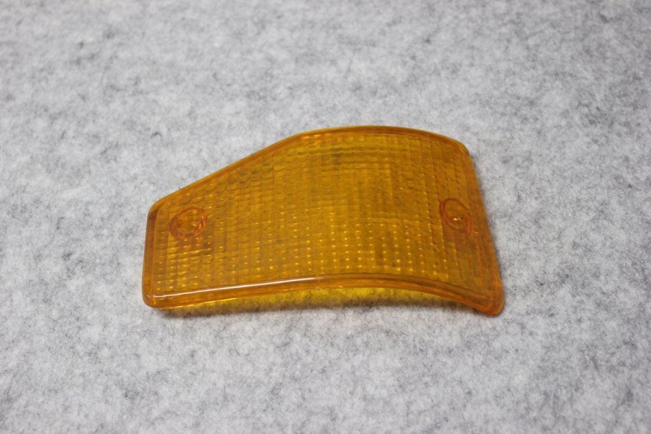 front left turn signal lens