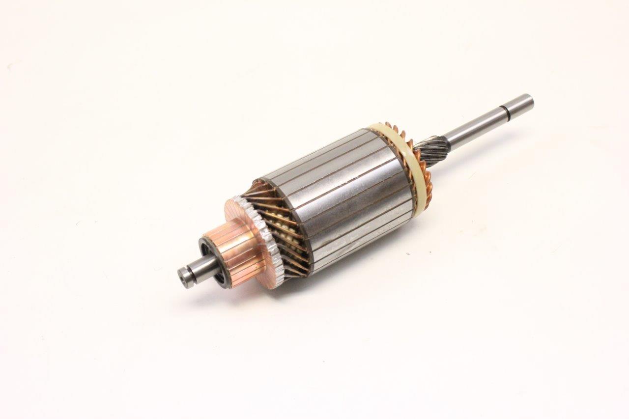 engine starter motor core