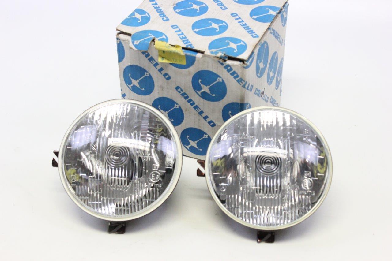 2x Carello headlight