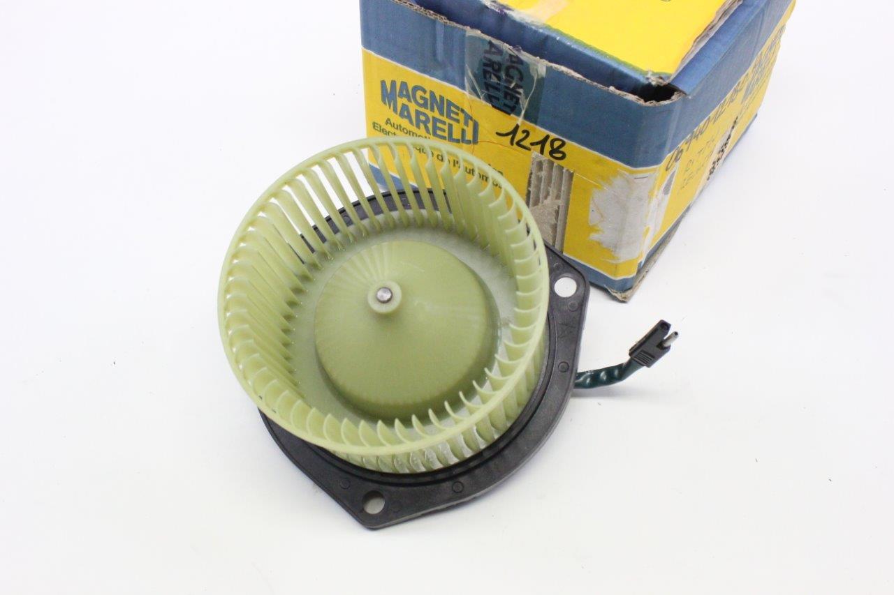 cabin heater electric fan