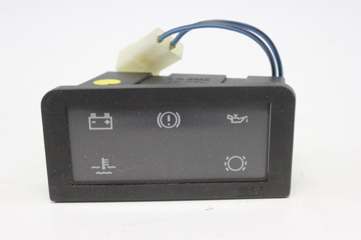 warning lights panel
