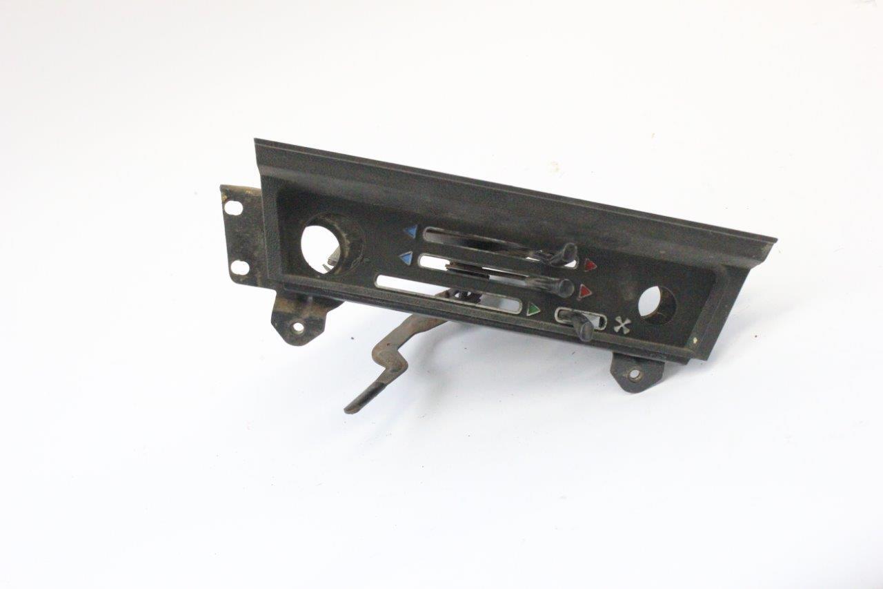 interior heater control console