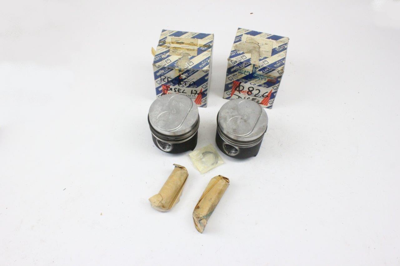 2x engine pistons