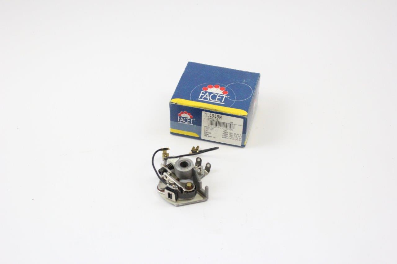 ignition distributor contact breaker mechanism