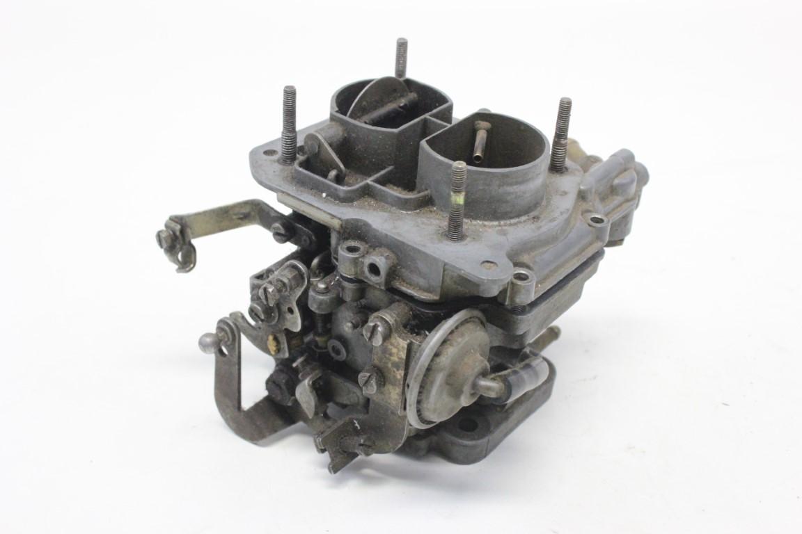 incomplete carburetor