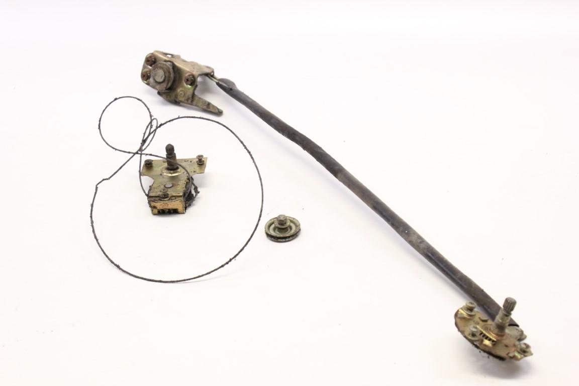 right door lock and window regulator assembly