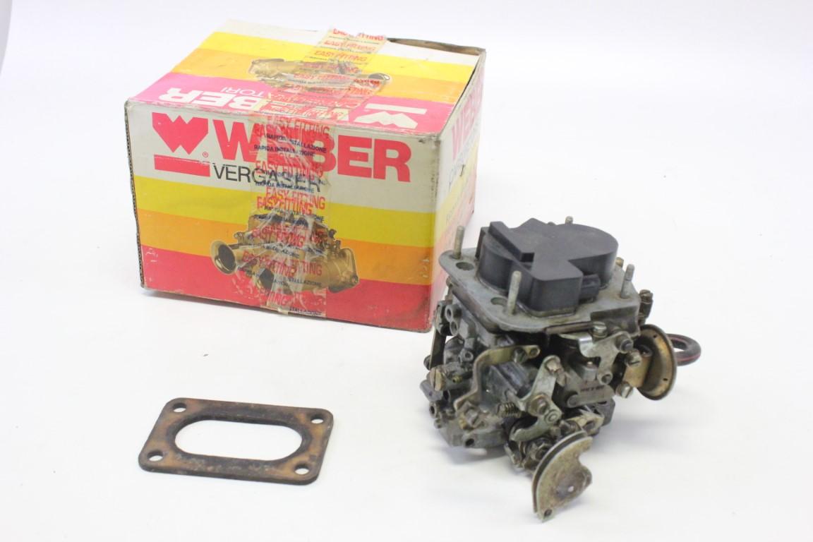 Weber double carburetor