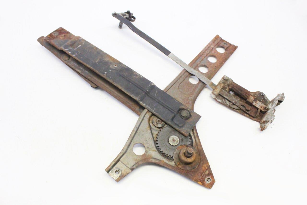 door lock linkage and window lift mechanism