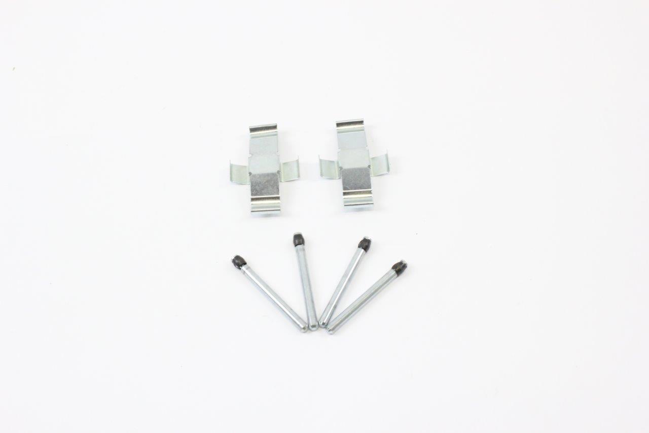 front brake pads pin spring set