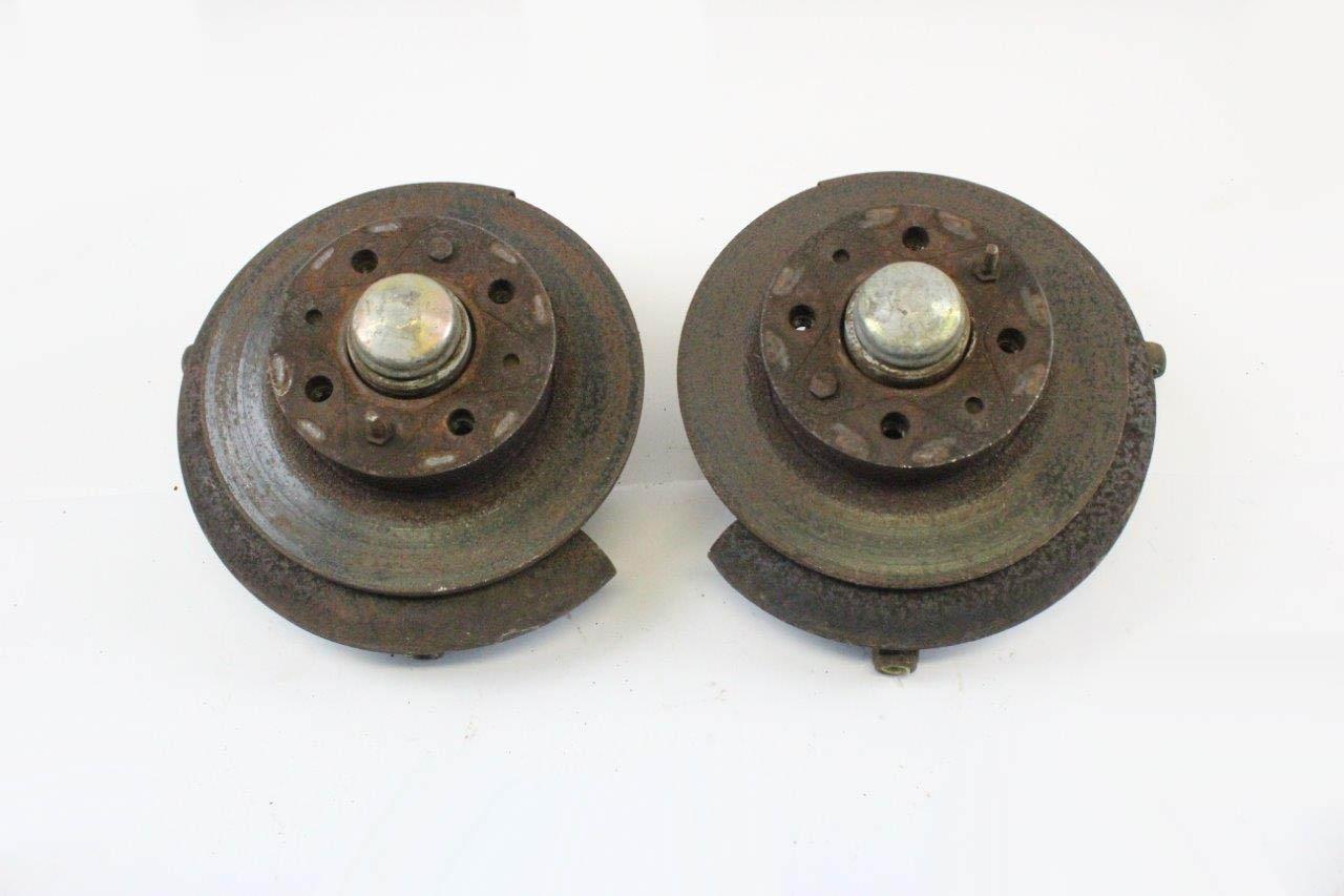 2x front wheel hub