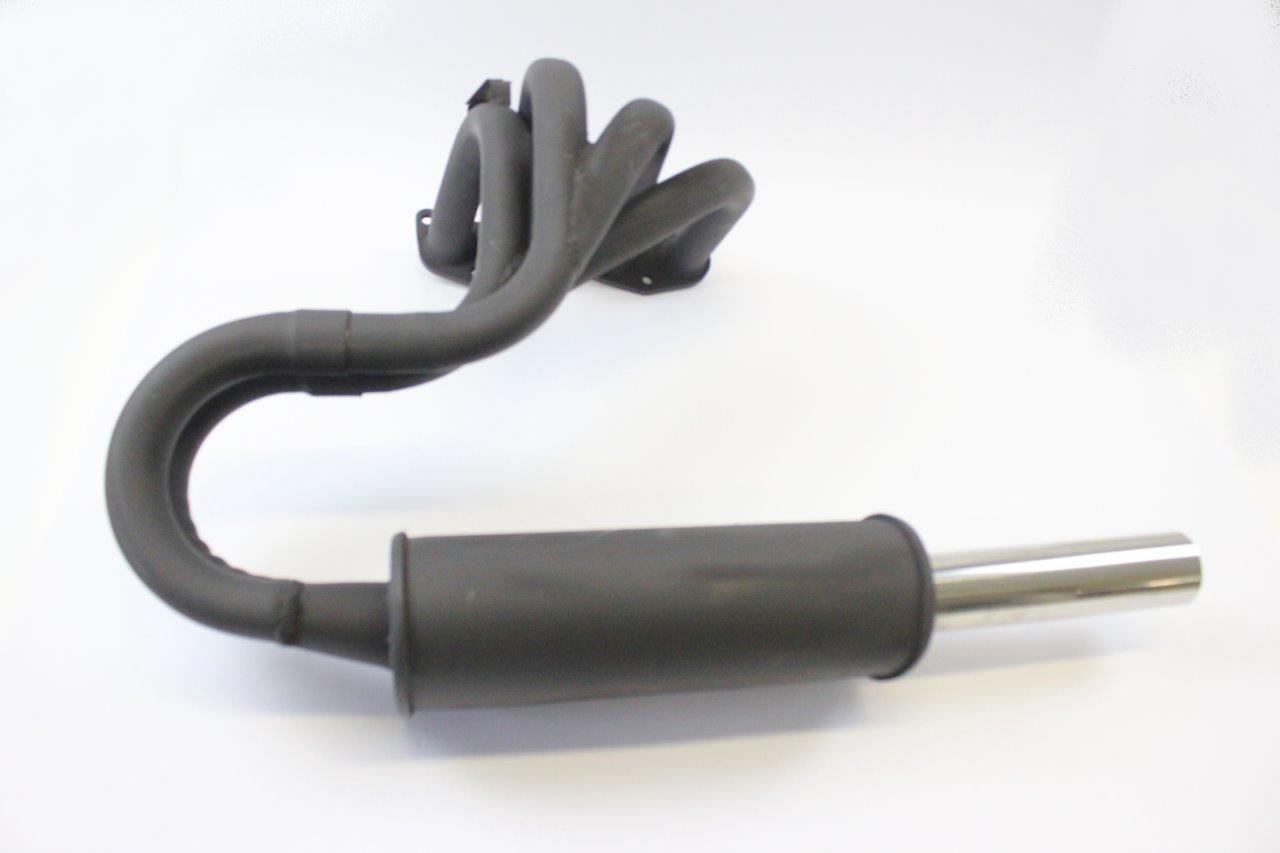 sport exhaust manifold and muffler