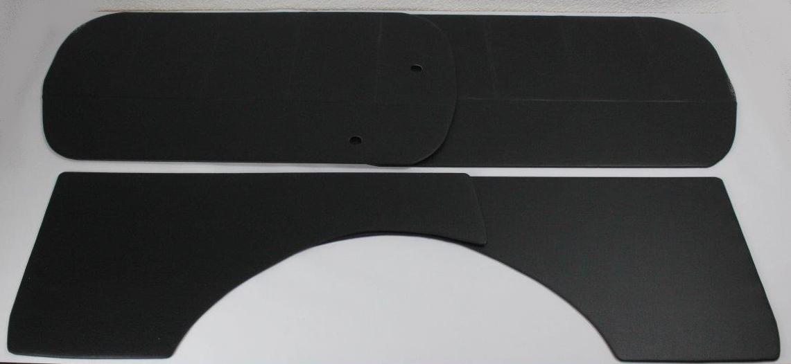 interior panels black