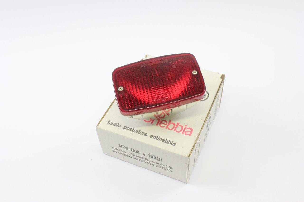rear bumper fog light