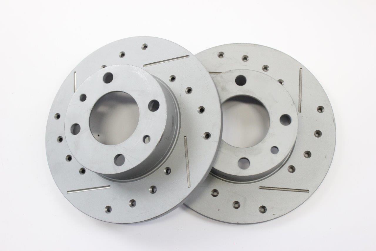 sport front brake discs