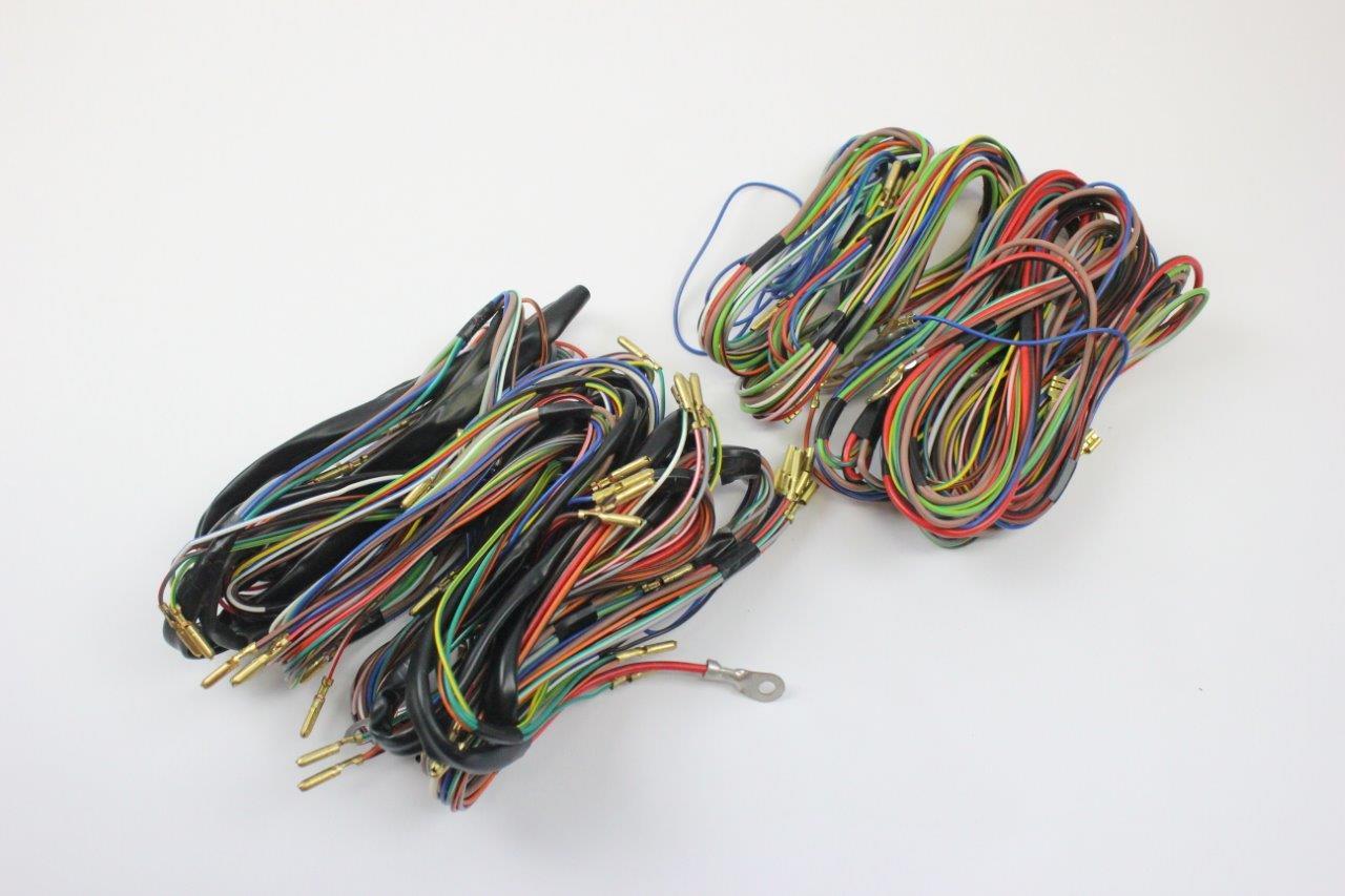 fiat 600 d zastava 750 wiring harness electrical | oldtimer shop  oldtimer shop