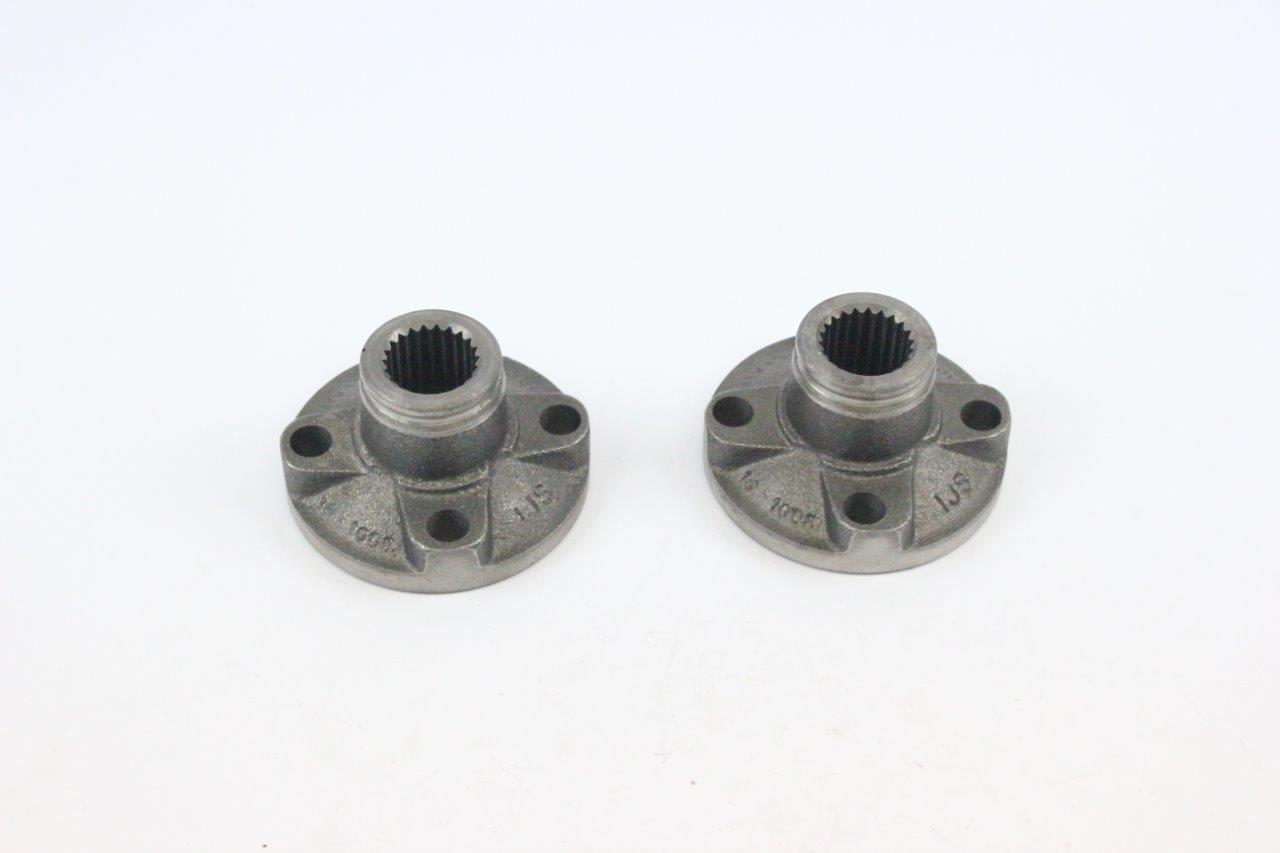 2x semi axle coupler flange