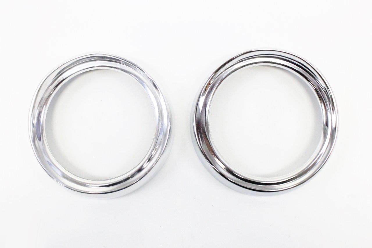 2x light chromed ring