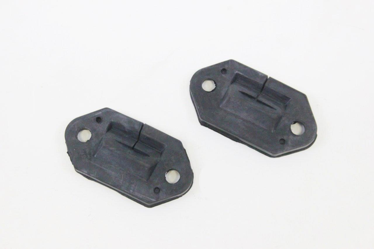 2x hood hinge rubber