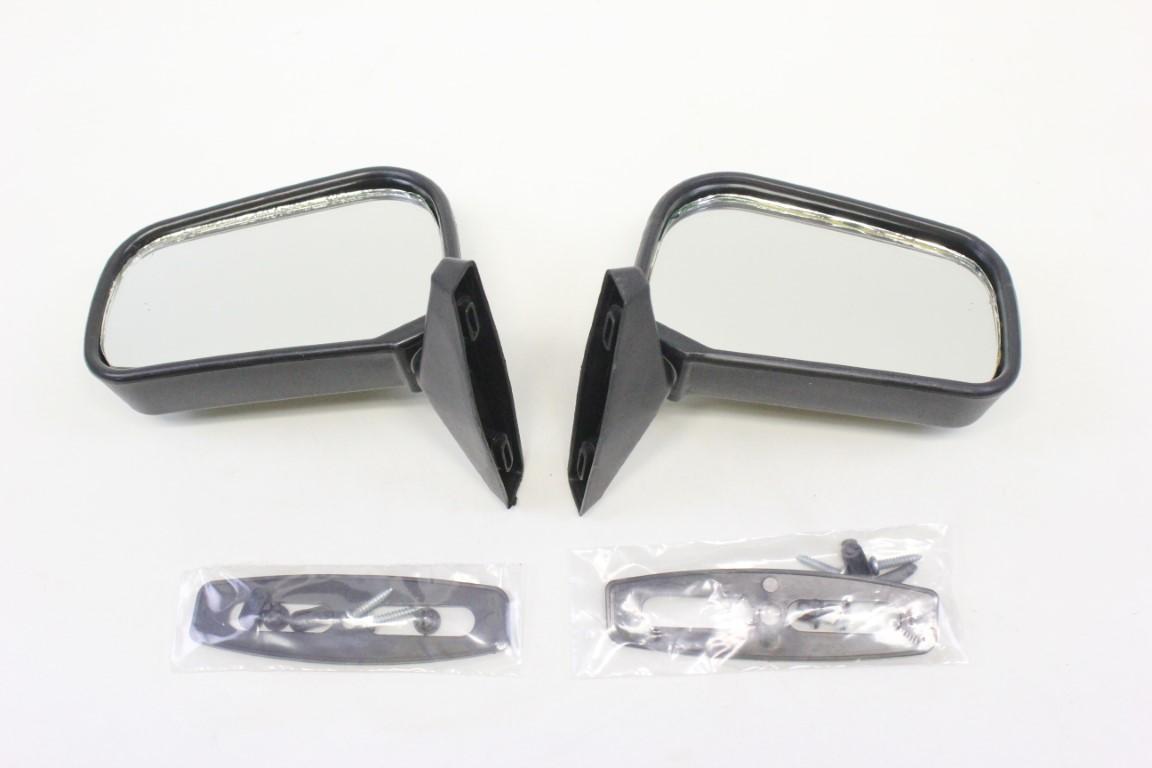 2x rear view mirror