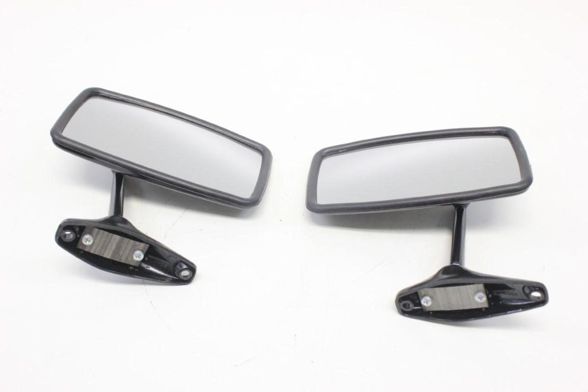 2x rear view side mirror