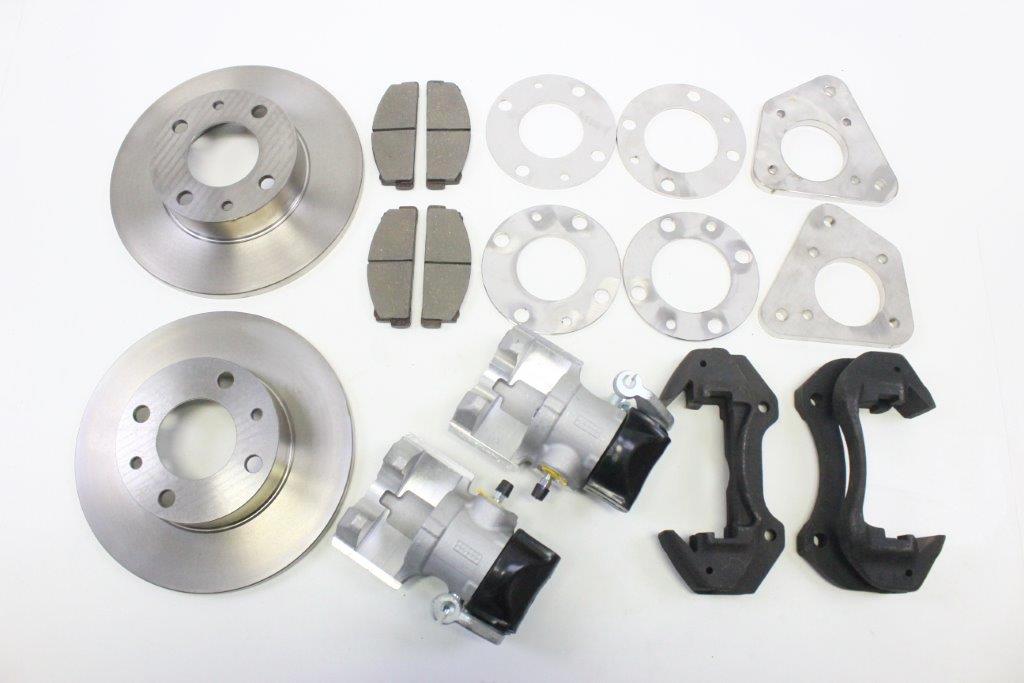 rear wheels brake discs conversion kit