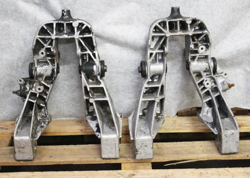 engine subframe towers