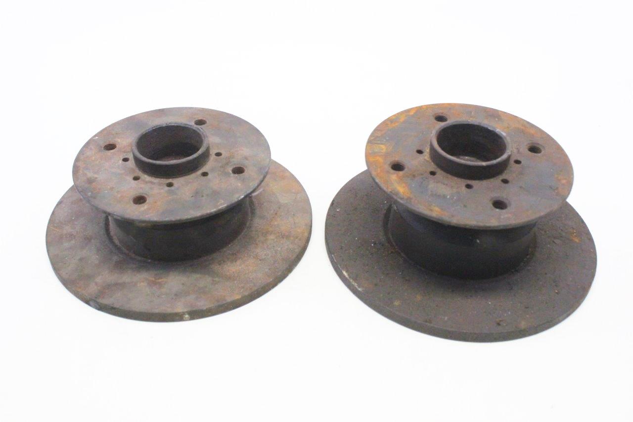 2x front brake discs