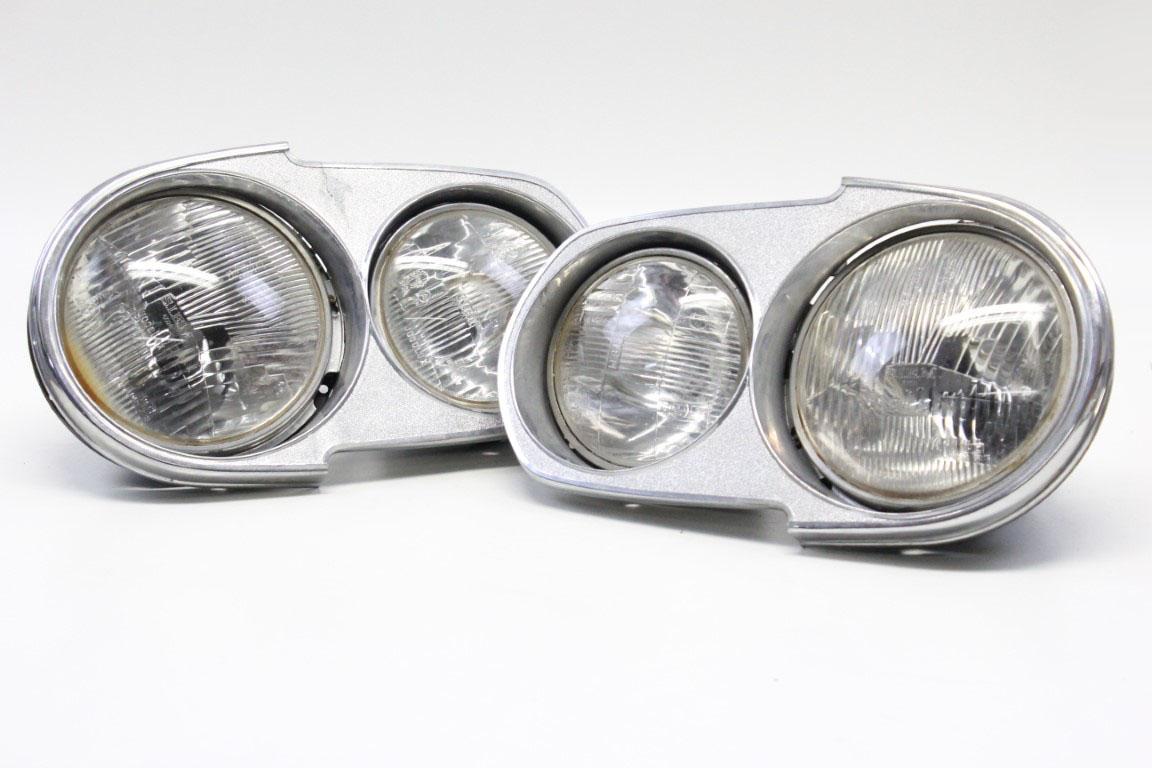 2x complete headlight