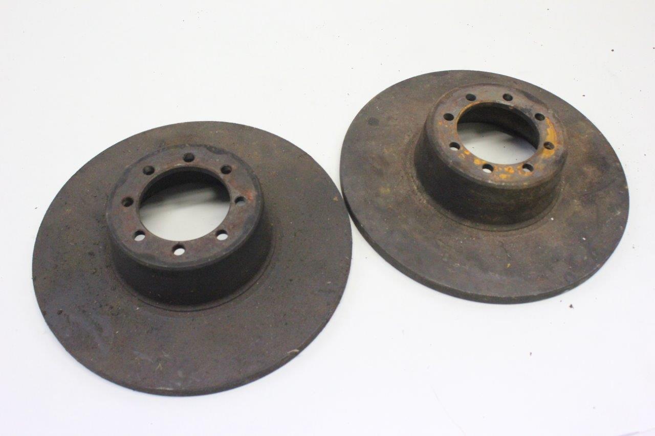 2x front brake disc