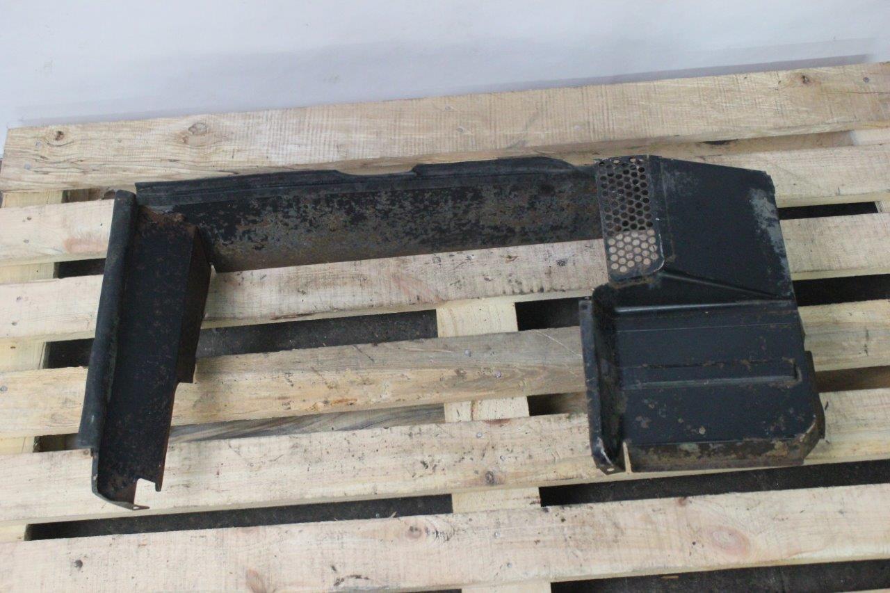engine radiator frame