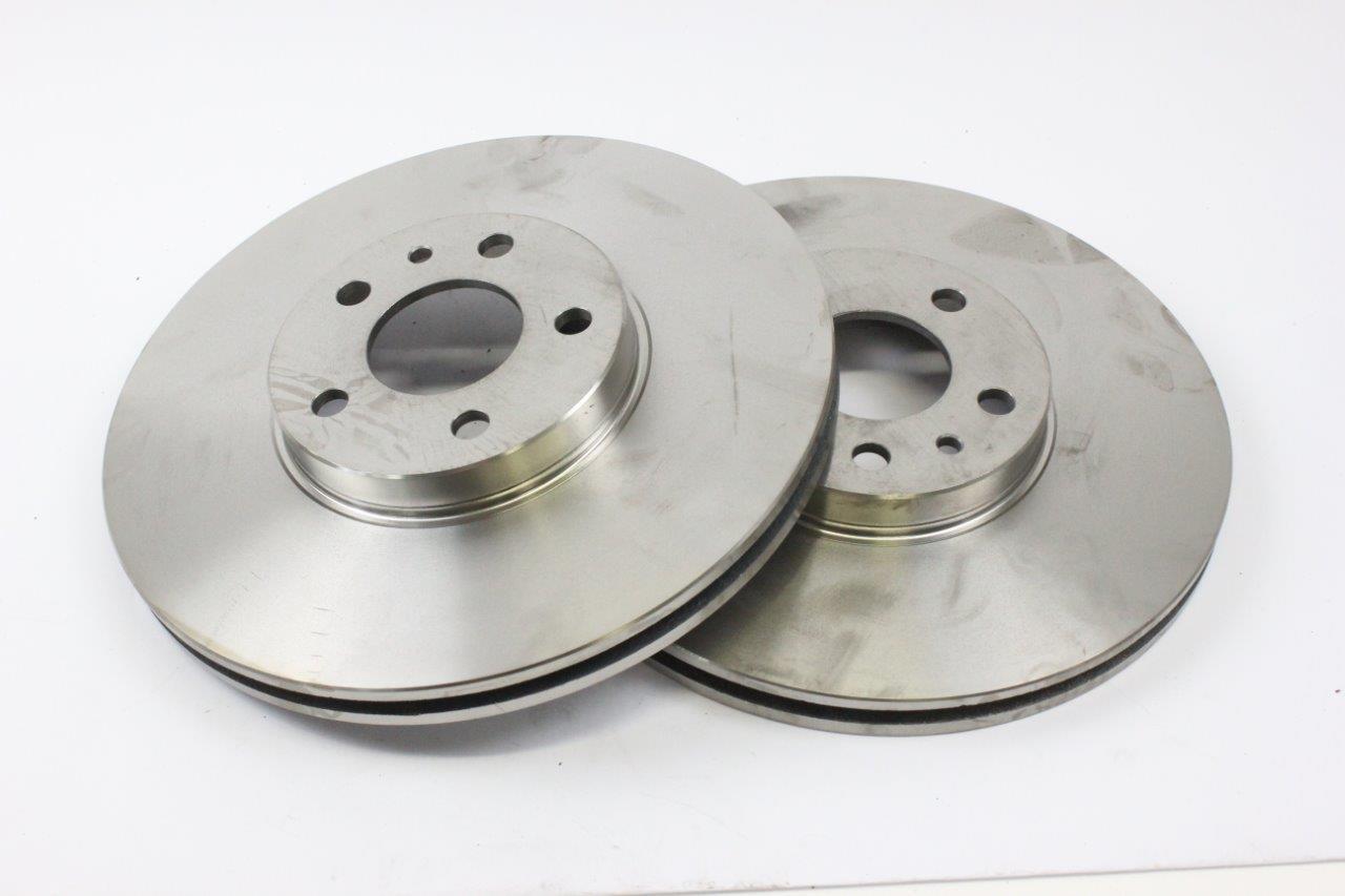 2x brake discs