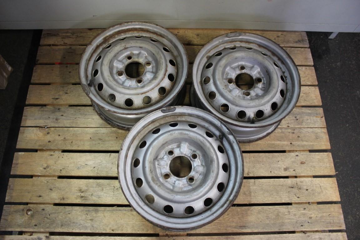 3x steel wheel