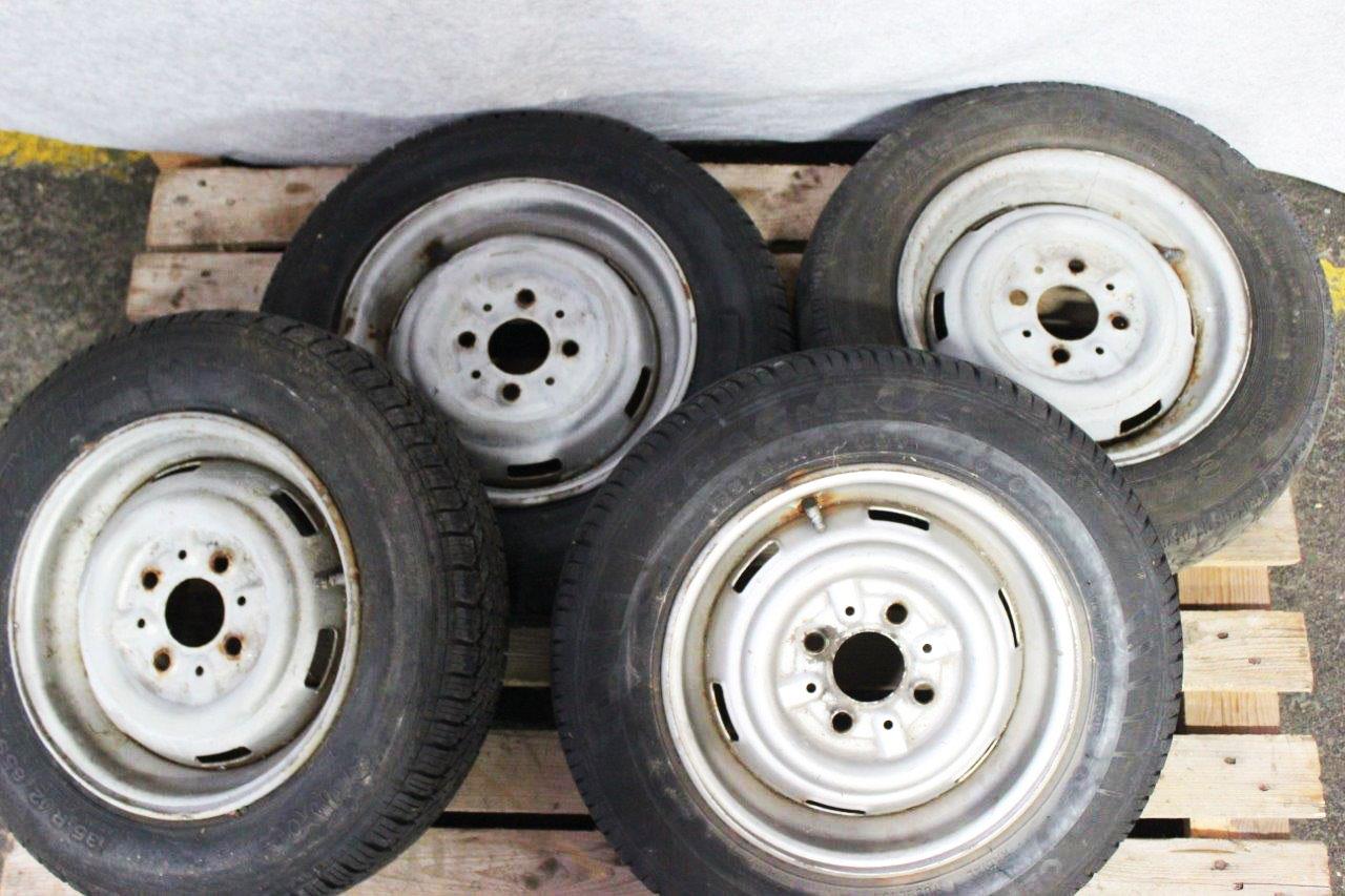 4x steel wheel