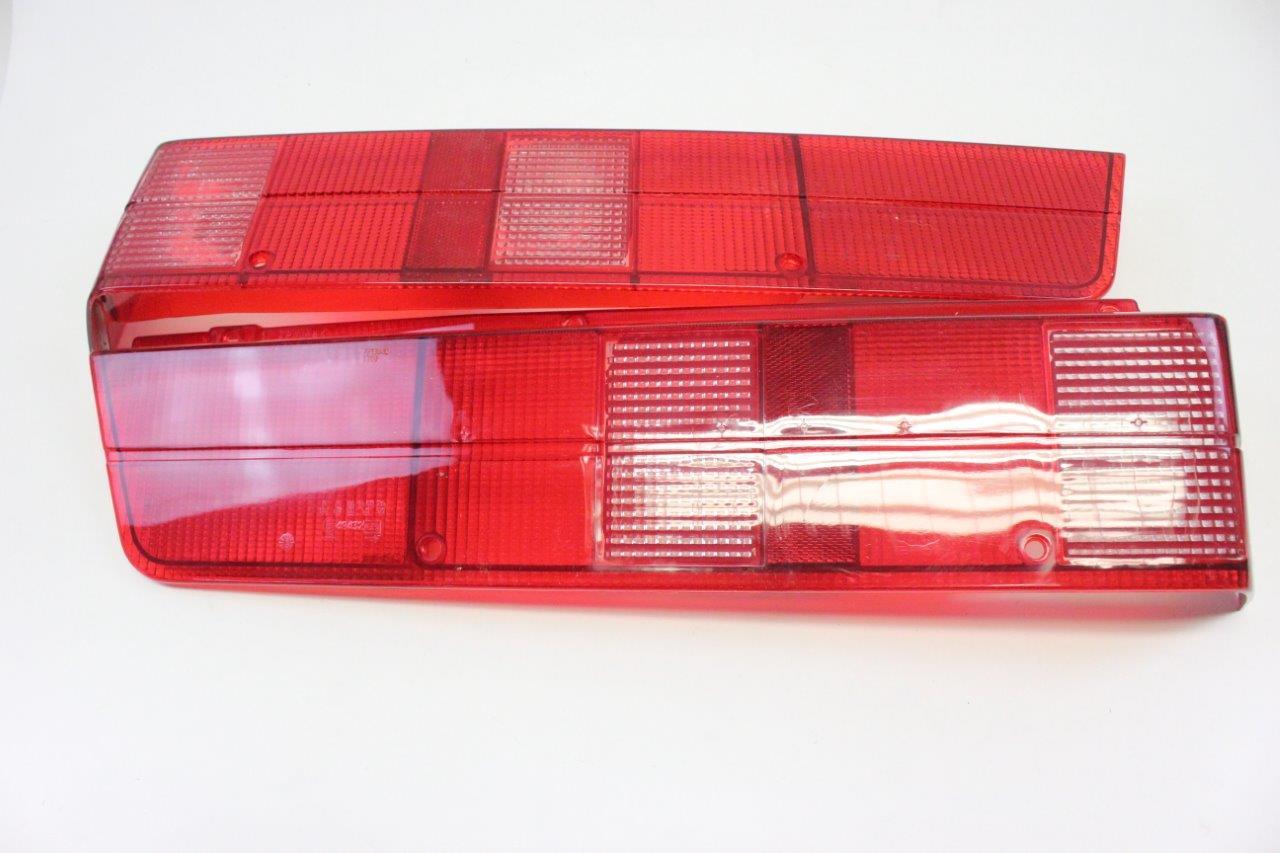 2x rear light lens