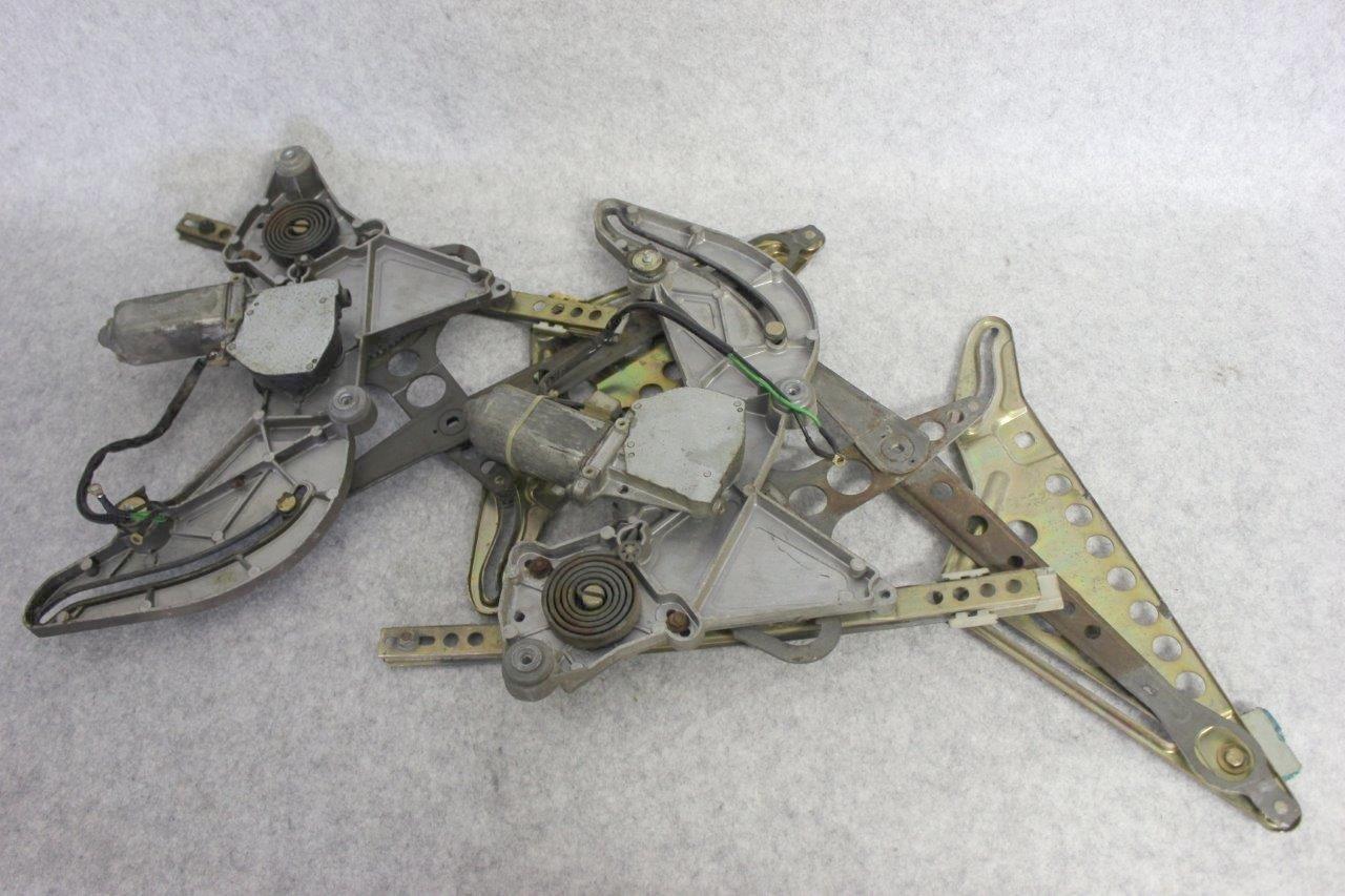 rear window regulators assembly